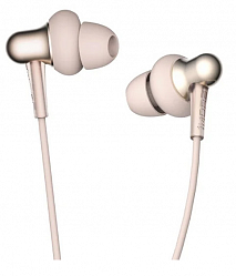 Наушники Xiaomi 1More Stylish Dual-Dynamic In-Ear Headphones Gold