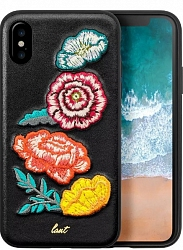 Чехол LAUT Pop Bouquet для Iphone X/XS Black