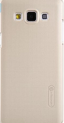 Чехол Nillkin Super Frosted Shield для Samsung Galaxy E7 E700 Gold