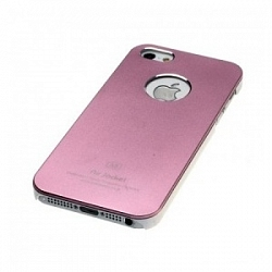 Чехол Power Support Air Jacket for iPhone 5 / 5S Light Pink